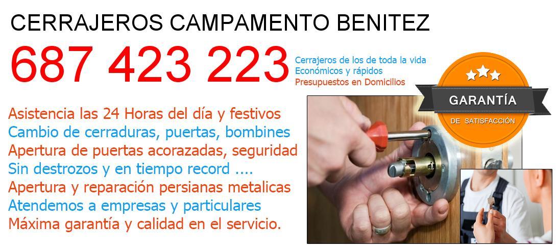 Cerrajeros campamento-benitez y  Malaga