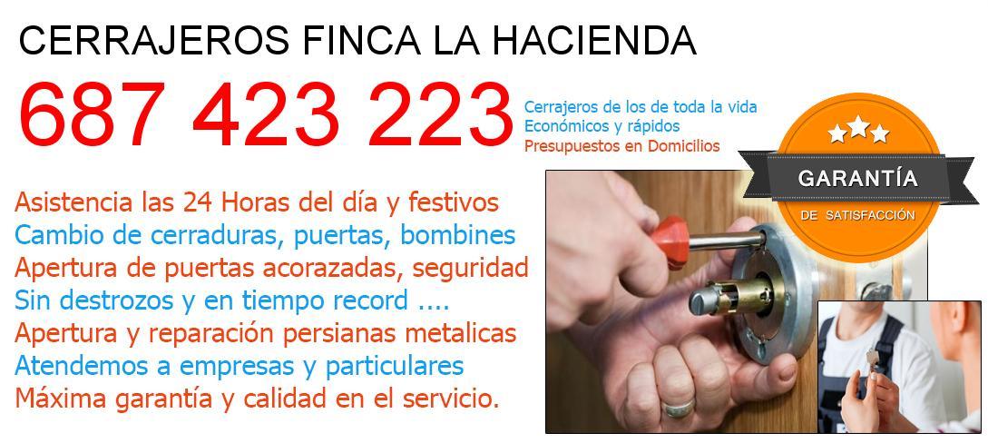 Cerrajeros finca-la-hacienda y  Malaga