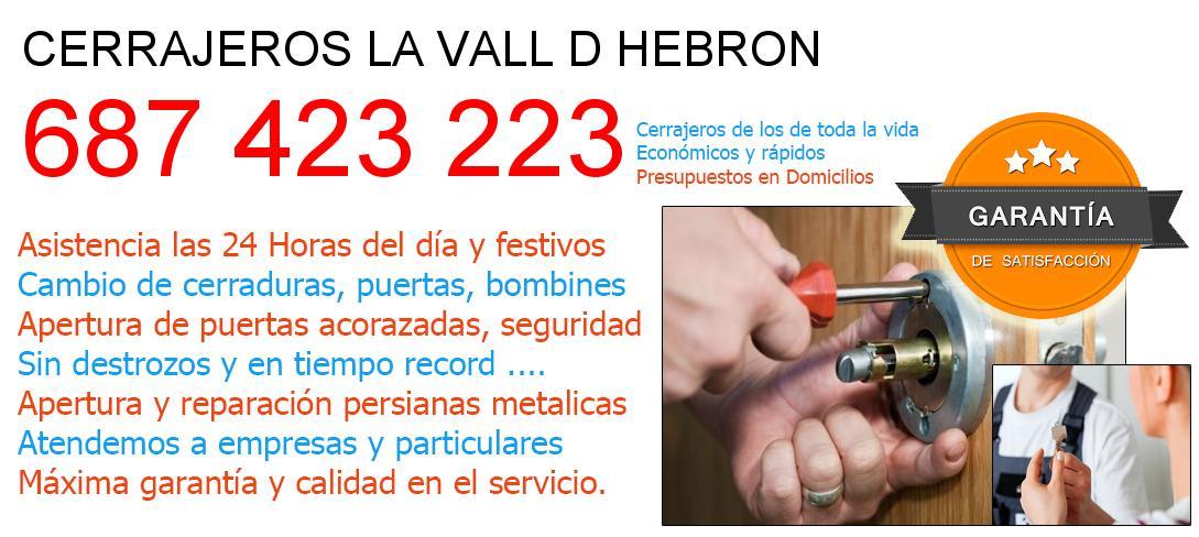 Cerrajeros la-vall-d-hebron y  Barcelona