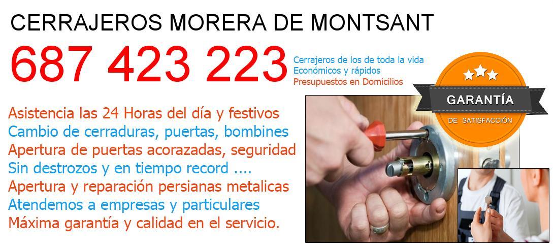 Cerrajeros morera-de-montsant y  Tarragona