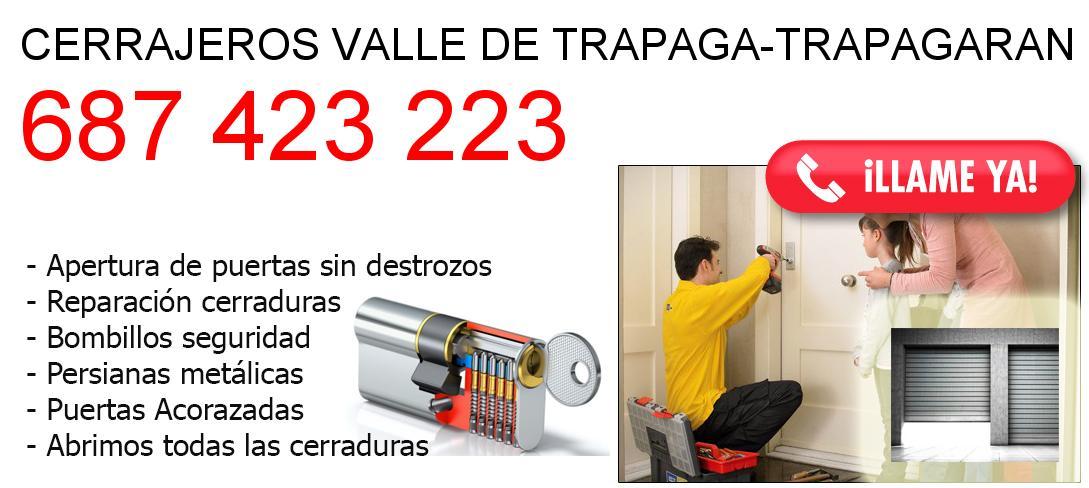 Empresa de cerrajeros valle-de-trapaga-trapagaran y todo Bizkaia